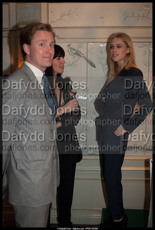TOM NAYLOR-LEYLAND; MARY CHARTERIS, Alice in her Palace party, Alice Naylor-Leyland launch of her  blog, Alice in her Palace, Drawing Room at Fortnum & Mason. 27 March 2014