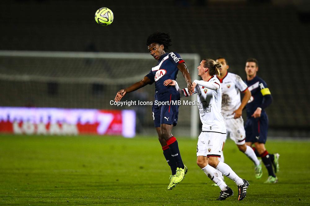 Sessi d Almeida / Nildas Hult - 16.01.2015 - Bordeaux / Nice - 21e journee Ligue 1<br />Photo : Manuel Blondeau / Icon Sport