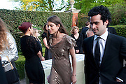 CHARLOTTE CASIRAGHI, The Ormeley dinner in aid of the Ecology Trust and the Aspinall Foundation. Ormeley Lodge. Richmond. London. 29 April 2009