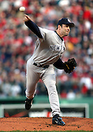 New York Yankees Mike Mussina, 2004 Boston Red Sox, make a run at history getting through a tough fight with the New York Yankees and then eventually sweeping the St. Louis Cardinals for the World Series title.