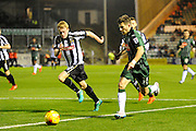 Matthew Kennedy (16) of Plymouth Argyle on the attack during the EFL Sky Bet League 2 match between Plymouth Argyle and Notts County at Home Park, Plymouth, England on 28 February 2017. Photo by Graham Hunt.