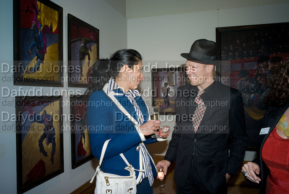 SERENA REES AND PAUL SIMONON, Paul Simonon  *** Local Caption *** -DO NOT ARCHIVE-© Copyright Photograph by Dafydd Jones. 248 Clapham Rd. London SW9 0PZ. Tel 0207 820 0771. www.dafjones.com.