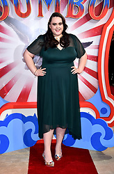 Sharon Rooney attending the European premiere of Dumbo held at Curzon Mayfair, London.