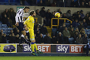 AFC Wimbledon midfielder Chris Whelpdale (11) in action during the EFL Sky Bet League 1 match between Millwall and AFC Wimbledon at The Den, London, England on 22 November 2016. Photo by Stuart Butcher.