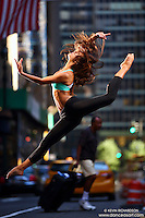 Dance As Art New York City Photography Project Midtown Manhattan with dancer, Kate Sage