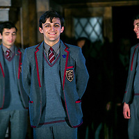 40 Years On by Alan Bennett;<br /> Directed by Daniel Evans;<br /> The Set with the Pupils;<br /> Chichester Festival Theatre;<br /> 25 April 2017.<br /> © Pete Jones<br /> pete@pjproductions.co.uk