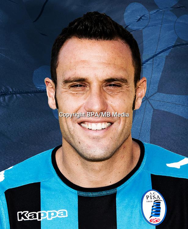 Italian League Serie B -2016-2017 / <br /> ( A.C. Pisa 1909 ) - <br /> Daniele Mannini