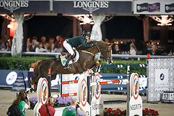 Veniss Pedro, (BRA), Quabri de L Isle, FEI President<br /> Logines Challenge Cup<br /> Furusiyya FEI Nations Cup Jumping Final - Barcelona 2015<br /> © Dirk Caremans<br /> 25/09/15