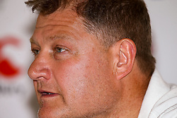 Neal Hatley (scrum specialist) of England  - Mandatory by-line: Steve Haag/JMP - 05/06/2018 - RUGBY - Kashmir Restaurant - Durban, South Africa - England Rugby Press Conference, South Africa Tour