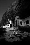 Black & White photographs from Sri Lanka<br /> Dambulla Cave Temple