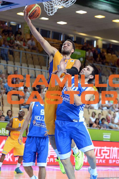 DESCRIZIONE : Capodistria Koper Slovenia Eurobasket Men 2013 Preliminary Round Svezia Grecia Sweden Greece<br /> GIOCATORE : Jeffery Taylor<br /> CATEGORIA : Tiro<br /> SQUADRA : Svezia<br /> EVENTO : Eurobasket Men 2013<br /> GARA : Svezia Grecia Sweden Greece<br /> DATA : 04/09/2013 <br /> SPORT : Pallacanestro&nbsp;<br /> AUTORE : Agenzia Ciamillo-Castoria/Max.Ceretti<br /> Galleria : Eurobasket Men 2013 <br /> Fotonotizia : Capodistria Koper Slovenia Eurobasket Men 2013 Preliminary Round Svezia Grecia Sweden Greece<br /> Predefinita :