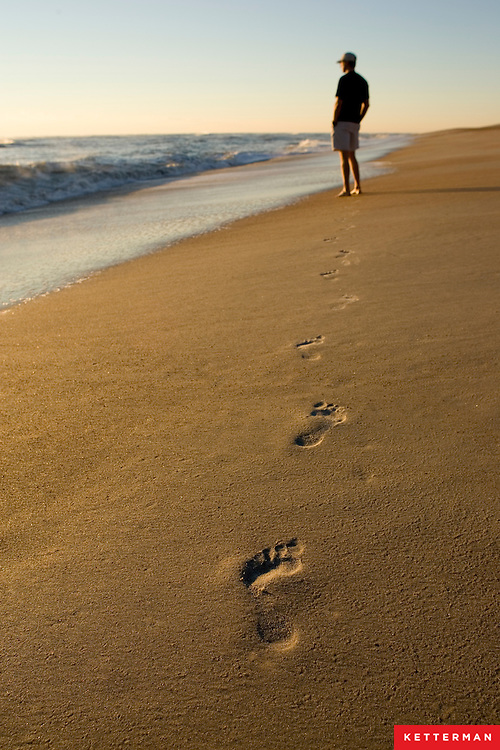 Going for a peaceful walk on the beach to clear your mind.