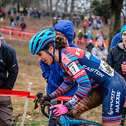 Sunday, Dec. 16, 2018 — Courtenay McFadden at the 2018 USA Cycling Cyclocross National Championships 18.2 in Louisville, KY. #CXNATS #photopresse.photoshelter.com #CYCLOCROSS #CX #FUJIXPRO2 #FUJIFILM #COURTENAYMCFADDEN