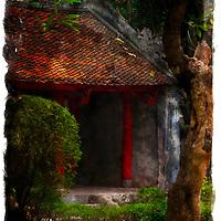 Temple of literature, Hanoi. Vietnam