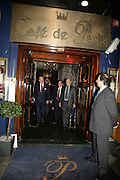 The Duke of Edinburgh and Brian Stein, The Duke of Edinburgh, Guards Polo Club  reception. CafŽ de Paris, Coventry Street. London. 15 May 2007. -DO NOT ARCHIVE-© Copyright Photograph by Dafydd Jones. 248 Clapham Rd. London SW9 0PZ. Tel 0207 820 0771. www.dafjones.com.