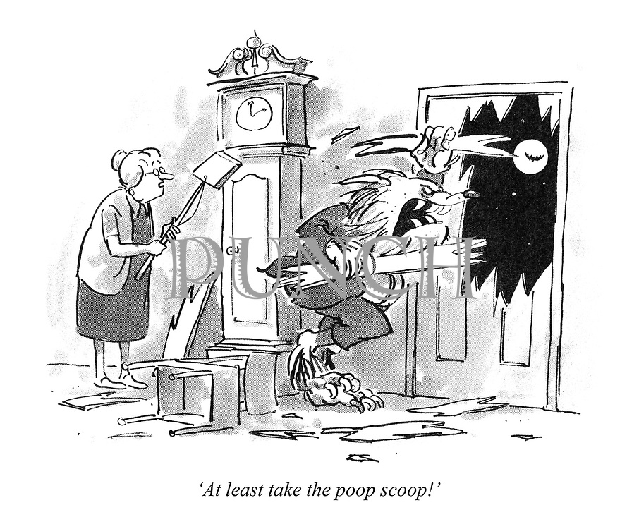 'At least take the poop scoop!'