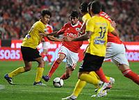 20120316: LISBON, PORTUGAL - Liga Zon Sagres 2011/2012: SL Benfica vs Beira-Mar. In picture: Nelson Oliveira<br /> . PHOTO: Alvaro Isidoro/CITYFILES