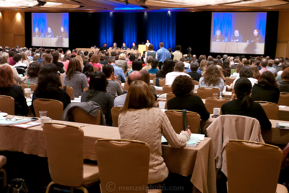 Andrew Weil's health convention, SF Hyatt Embarcadero