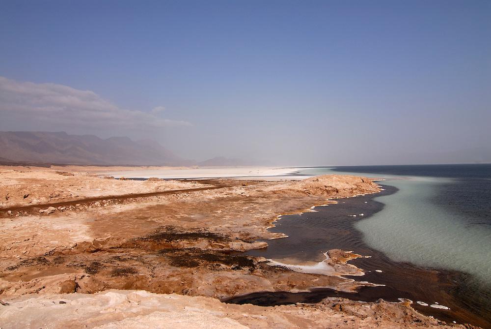 Lake assal most saltiest lake in the world,Djibouti