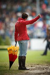Theodorescu Monica, (GER)<br /> Grand Prix Kur<br /> European Championships - Aachen 2015<br /> © Hippo Foto - Dirk Caremans<br /> 16/08/15
