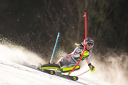 Katharina Gallhuber (AUT) during the Ladies' Slalom at 56th Golden Fox event at Audi FIS Ski World Cup 2019/20, on February 16, 2020 in Podkoren, Kranjska Gora, Slovenia. Photo by Matic Ritonja / Sportida