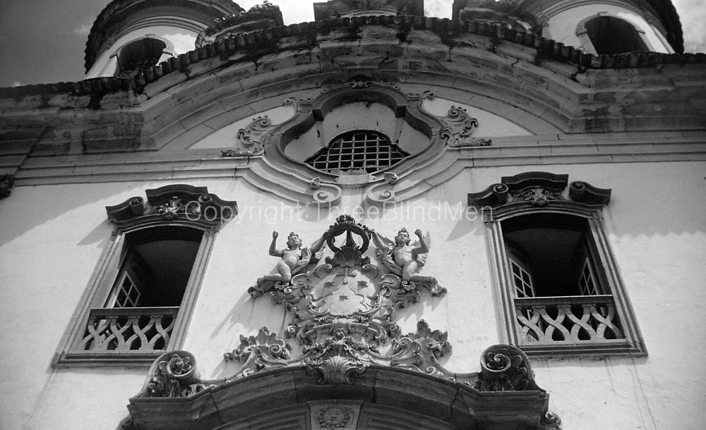 Igreja Nossa Senhora do Carmo Brazil.<br /> Ronald Lewcock Collection.<br /> Portuguese colonial architecture.Portuguese colonial architecture.