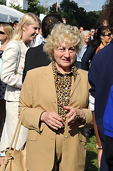 ELVIRA BECKER mother of Boris Becker at the IWC Laureus Polo Cup Day 2008 held at Ham Polo Club, Surrey on 22nd June 2008.<br />