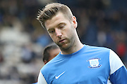 Preston North End Midfielder Paul Gallagher during the Sky Bet Championship match between Preston North End and Hull City at Deepdale, Preston, England on 28 December 2015. Photo by Pete Burns.