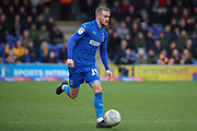 AFC Wimbledon attacker Shane McLoughlin (19) dribbling during the EFL Sky Bet League 1 match between AFC Wimbledon and Bolton Wanderers at the Cherry Red Records Stadium, Kingston, England on 7 March 2020.