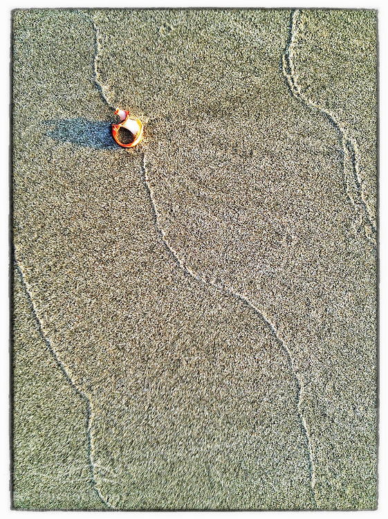 """Patterns on the beach, Great Island Common, New Castle, New Hampshire. iPhone photo - suitable for print reproduction up to 8"""" x 12""""."""