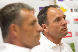 Burkhard Schaffer  during press conference of Slovenian Men Alpine Ski Team, on August 22, 2011, in SZS, Ljubljana, Slovenia. (Photo by Vid Ponikvar / Sportida)