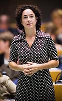 Nederland. Den Haag, 19 juni 2007.<br /> Femke Halsema, fractievoorzitter GroenLinks.<br /> Debat in de Tweede kamer inzake het beleidsprogramma van het vierde kabinet Balkenende. De fractievoorzitters in de Tweede Kamer debatteren met premier Balkenende over het op donderdag 14 juni 2007 gepresenteerde beleidsprogramma van het kabinet Balkenende IV. ( vier / 4 ) Het definitieve beleidsprogramma van het kabinet, dat verder invulling geeft aan het regeerakkoord, Dit programma is gemaakt aan de hand van de honderd dagen die het kabinet in het land doorbracht.<br /> Foto Martijn Beekman <br /> NIET VOOR TROUW, AD, TELEGRAAF, NRC EN HET PAROOL