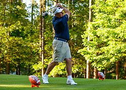 Notre Dame alumnus Jimmy Dunne during the Chick-fil-A Peach Bowl Challenge at the Ritz Carlton Reynolds, Lake Oconee, on Monday, April 30, 2019, in Greensboro, GA. (Paul Abell via Abell Images for Chick-fil-A Peach Bowl Challenge)
