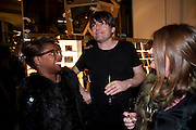 BEN BENJAMIN; ALEX JAMES; ELAINE FORAN, The Nineties are Vintage. Concept Store, Rellik and Workit. The Wonder Room. Selfridges. Oxford St. London. 7 January 2010.
