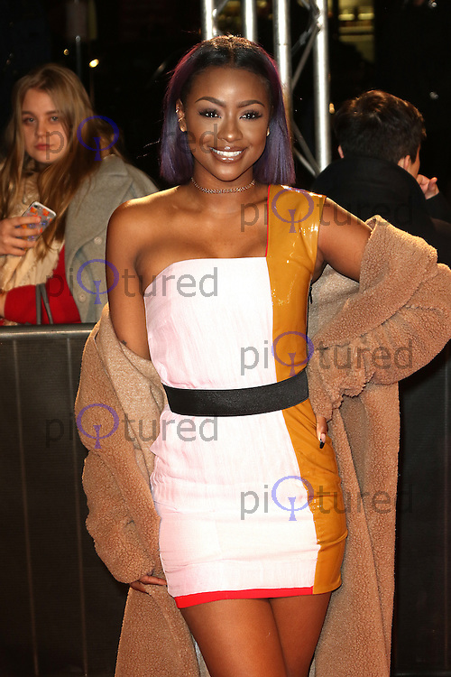 Justine Skye, The Naked Heart Foundation's Fabulous Fund Fair, Roundhouse, London UK, 21 February 2017, Photo by Richard Goldschmidt