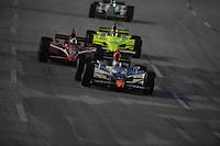 Mario Moraes, Dario Franchitti, Ed Carpenter,. Meijer Indy 300, Kentucky Speedway, Sparta, KY 010809 09IRL12