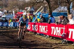 Toon Aerts (BEL), Men Under 23, Cyclo-cross World Championships Tabor, Czech Republic, 1 February 2015, Photo by Pim Nijland / PelotonPhotos.com