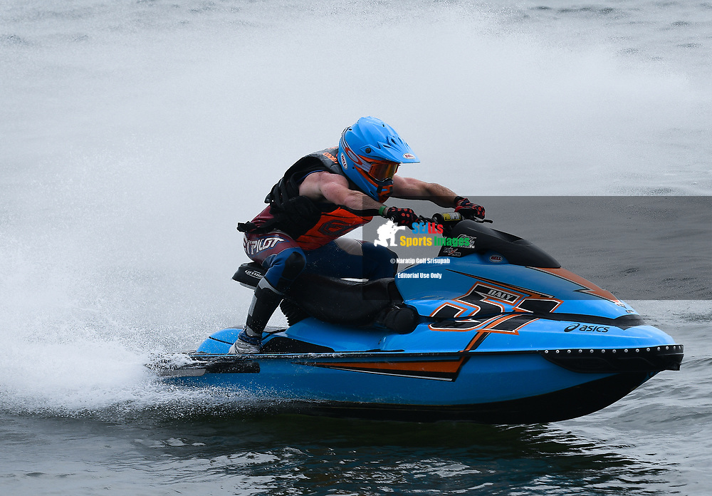 PATTAYA, THAILAND - DECEMBER 09: Christian Daly (51) of USA in action during the Pro Sport GP Moto4 at the Thai Airways International Jet Ski World Cup 2018, Jomtien Beach, Pattaya, Thailand on December 09, 2018. <br /> .<br /> .<br /> .<br /> (Photo by: Naratip Golf Srisupab/SEALs Sports Images)<br /> .<br /> Any image use must include a mandatory credit line adjacent to the content which should read: Naratip Golf Srisupab/SEALs Sports Images
