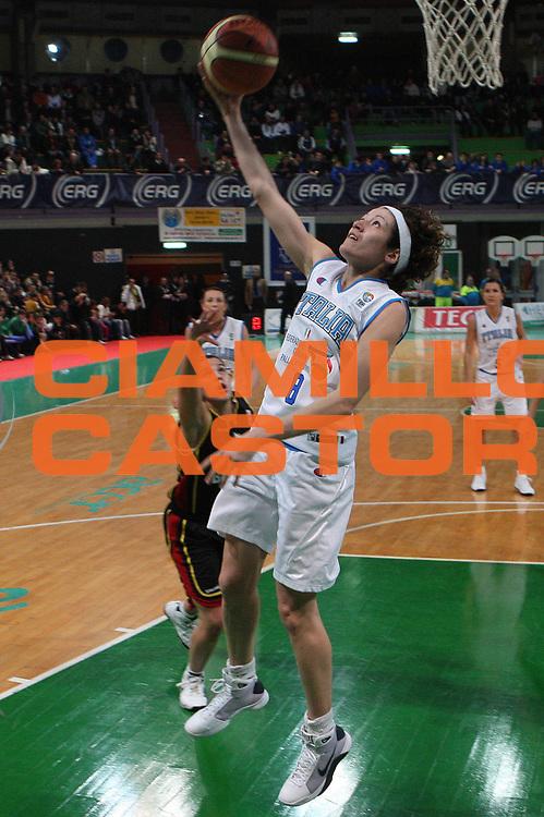 DESCRIZIONE : Priolo Additional Qualification Round Eurobasket Women 2009 Italia Belgio<br /> GIOCATORE : Simona Ballardini<br /> SQUADRA : Nazionale Italia Donne<br /> EVENTO : Qualificazioni Eurobasket Donne 2009<br /> GARA :  Italia Belgio<br /> DATA : 16/01/2009<br /> CATEGORIA : Tiro<br /> SPORT : Pallacanestro<br /> AUTORE : Agenzia Ciamillo-Castoria/G.Ciamillo
