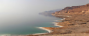 Jordanian east coast of the Dead Sea, Jordan Rift Valley, Jordan, Middle East. Picture by Manuel Cohen