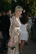 MALIN JOHANNSON , The Summer Party in association with Swarovski. Co-Chairs: Zaha Hadid and Dennis Hopper, Serpentine Gallery. London. 11 July 2007. <br /> -DO NOT ARCHIVE-© Copyright Photograph by Dafydd Jones. 248 Clapham Rd. London SW9 0PZ. Tel 0207 820 0771. www.dafjones.com.