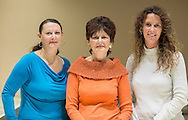 Alethea Marie Freese, Sandy Freese, and Alicia Karen Freese-Beck (from left) at Karen Marie Jewelers in Cedar Rapids on Tuesday, January 29, 2013.