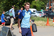 AFC Wimbledon Jack Rudoni (12) arriving during the EFL Sky Bet League 1 match between AFC Wimbledon and Wycombe Wanderers at the Cherry Red Records Stadium, Kingston, England on 31 August 2019.