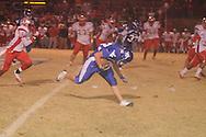 Water Valley's Hunter Stanford (32) vs. Winona in Water Valley, Miss. on Friday, November 11, 2011. Water Valley won.