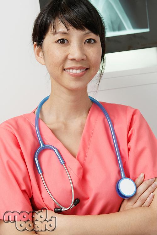 Doctor in hospital,portrait