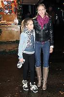 LONDON - NOVEMBER 22: Donna Air attended the opening night of 'Hyde Park Winter Wonderland' in Hyde Park, London, UK. November 22, 2012. (Photo by Richard Goldschmidt)
