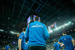 Before handball match between PPD Zagreb (CRO) and Paris Saint-Germain (FRA) in 11th Round of Group Phase of EHF Champions League 2015/16, on February 10, 2016 in Arena Zagreb, Zagreb, Croatia. Photo by Urban Urbanc / Sportida