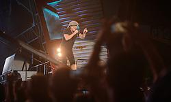 14.05.2015, Red Bull Ring, Spielberg, AUT, AC DC, Rock or Bust Tour, Spielberg, Konzert, im Bild Sänger Brian Johnson. Die australische Band AC/DC gastiert im Zuge ihrer Rock or Bust World Tour am 14. Mai in Spielberg // AC/DC perform on stage during their Rock or Bust Tour at the Red Bull Ring, Spielberg, Austria on 2015/05/14. EXPA Pictures © 2015, PhotoCredit: EXPA/ Sandro Zangrando