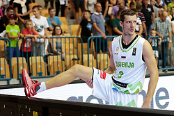Goran Dragic of Slovenia after friendly basketball match between National teams of Slovenia and Belgium at day 2 of Adecco Cup 2016, on August 6 in Zlatorog, Celje, Slovenia. Photo by Matic Klansek Velej / Sportida