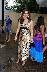JESSICA DE ROTHSCHILD at the annual Serpentine Gallery Summer Party co-hosted by Jimmy Choo shoes held at the Serpentine Gallery, Kensington Gardens, London on 30th June 2005.<br />